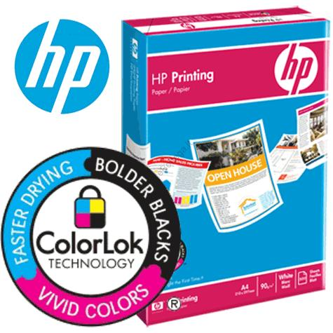 ColorLok,cartacertificatadaHPperInkJet,formatoA4(21x29,7cm)
