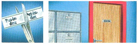 gbc Put in Dex. Portaetichette industriale mm 10x150 Particolarmente resistenti, con adesivo rinforzato. Perfetti per contrassegnare scaffali, casse, armadi, cassetti. Compresi cartoncini.