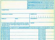 gbc Copia Commissioni A5 formato a5 (22x13,5cm), 100 pagine, carta uso mano, rilegatura pinzata in testa + zigrinatura per lo strappo.