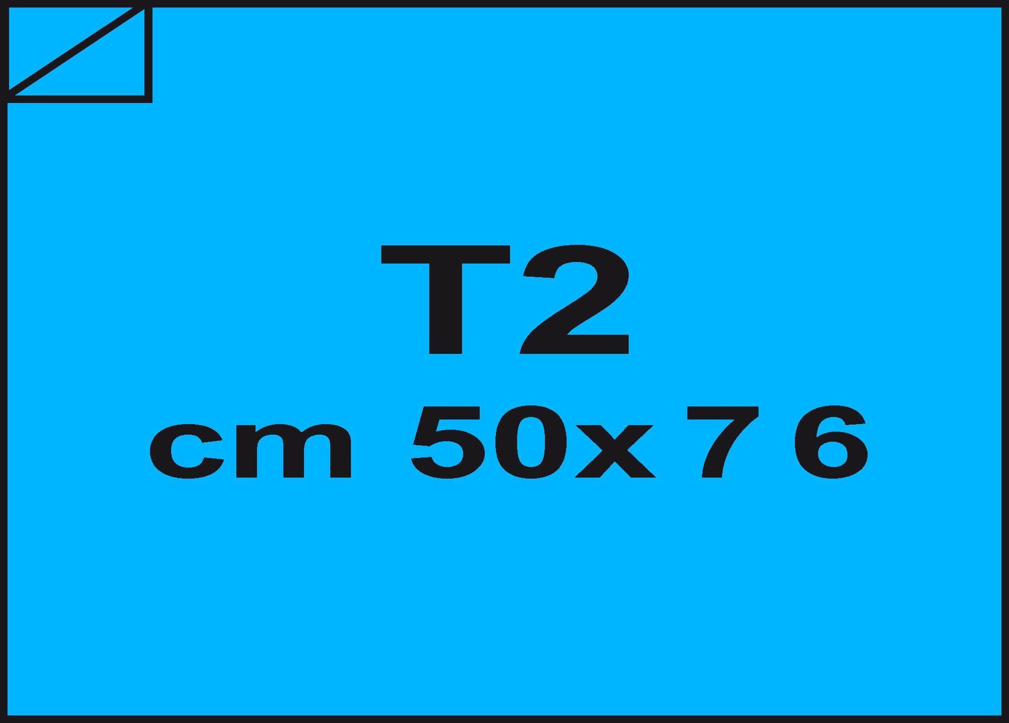 carta Carta velina Azzurro reale 22, formato T2 (50x76cm), 18grammi x mq.