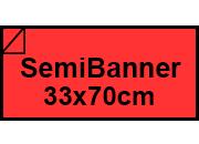 carta Carta Burano SCARLATTO, sb, 90gr Rosso Scarlatto 61, formato sb (33,3x70cm), 90grammi x mq.