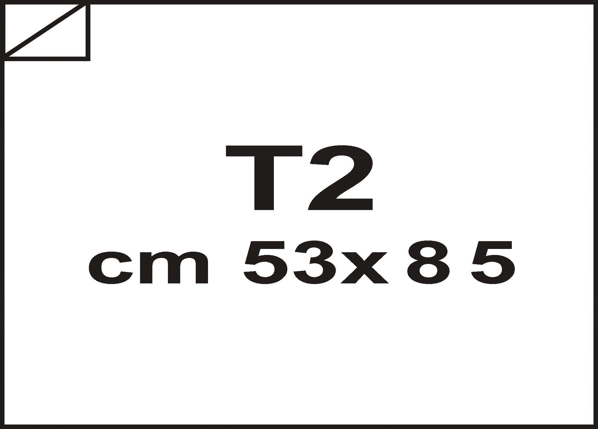 carta Cartone Cartone accoppiato nobilitato 3,5mm bianco, formato 53x85 (53x85cm), 2700grammi x mq.