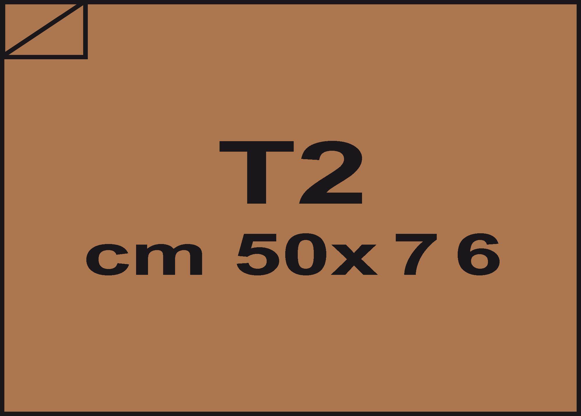 carta Carta velina Marrone chiaro 46, formato T2 (50x76cm), 18grammi x mq.