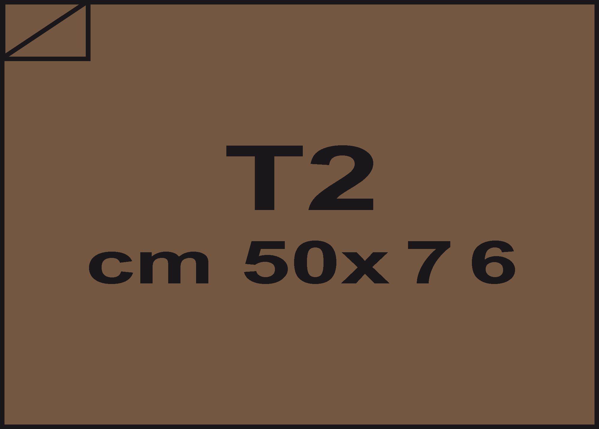 carta Carta velina Marrone scuro 47, formato T2 (50x76cm), 18grammi x mq.
