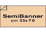 carta Cartoncino Modigliani Cordenons  camoscio, formato SB (33,3x70cm), 120grammi x mq.