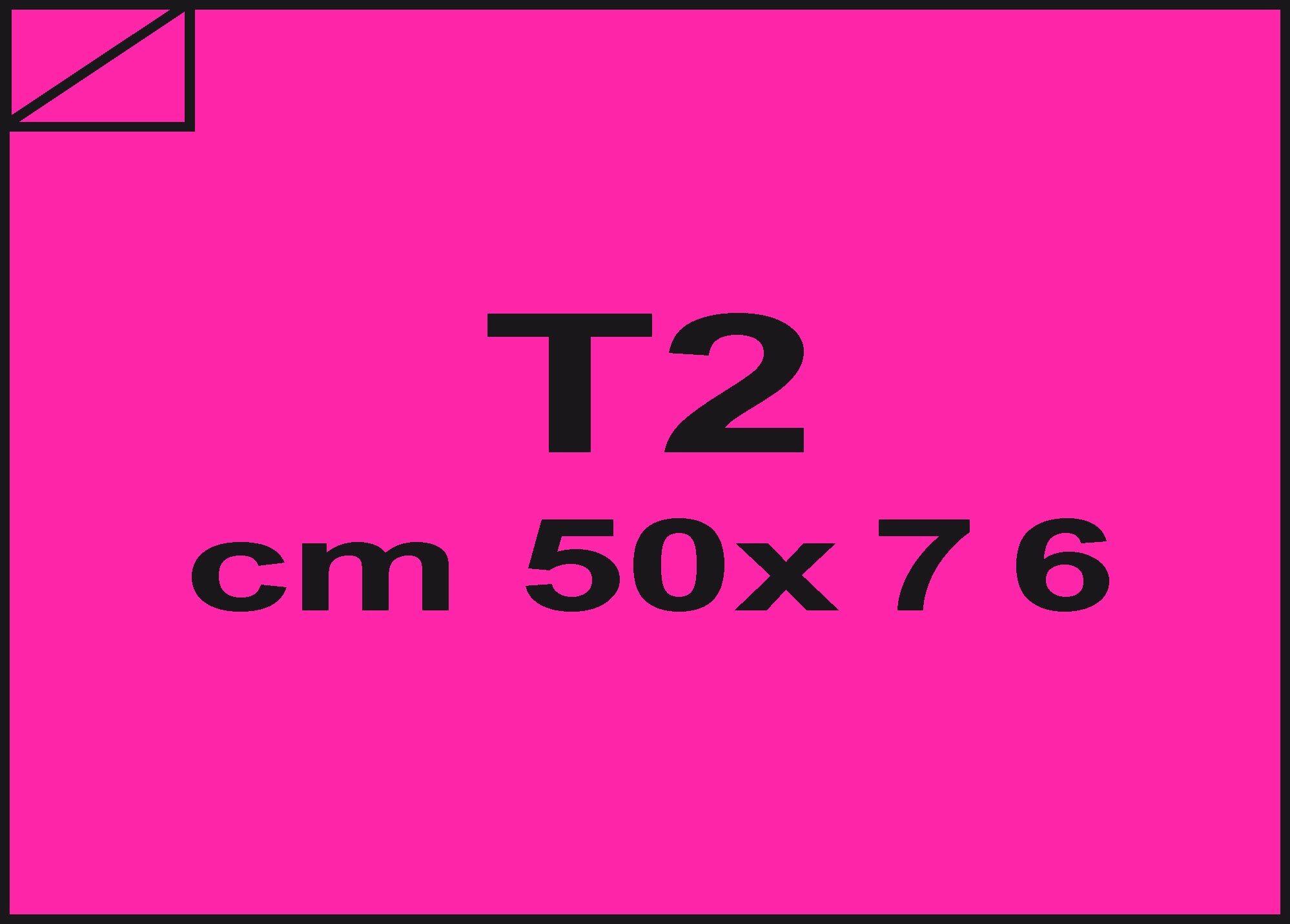carta Carta velina Rosa shocking 06, formato T2 (50x76cm), 18grammi x mq.