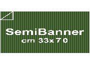 carta Cartoncino Dalì Cordenons  Verde, formato SB (33,3x70cm), 240grammi x mq.