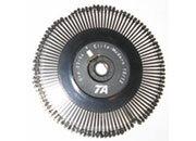 consumabili Margherita di stampa per macchina da scrivere Triumph Adler, gruppo 03-129 Tile PS Diametro 8cm. Prodotto ORIGINALE Triumph Adler TA.