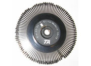 consumabili Margherita di stampa per macchina da scrivere Triumph Adler, gruppo 03-140 Mercury PS Diametro 8cm. Prodotto ORIGINALE Triumph Adler TA.