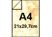 carta PergamenaFedrigoni, A4, 110gr, BIANCO BRA1181.