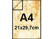 carta PergamenaFedrigoni, A4, 110gr, AVORIO bra181.