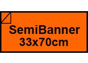 carta Cartoncino Burano TROPICO. SB. 140gr Arancio Tropico 56, formato SB (33,3x70cm), 140grammi x mq.