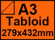 carta Carta Burano ARANCIO, a3tabloid, 90gr Arancio Tropico 56, formato a3tabloid (27,9x43,2cm), 90grammi x mq.
