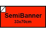 carta Cartoncino BindaKOTE ARANCIO, SB, 250gr COLORI FORTI Arancio 13, monolucido, formato SB (33,3x70cm), 250grammi x mq.