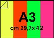 carta Carta Fluo, carta fluorescente bra998A3.
