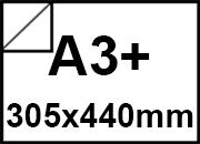 oce A3+ gloss carta bianca Top Coated Gloss DSC, lucida su 2 lati, formato 440x305, 135gr, CC903.
