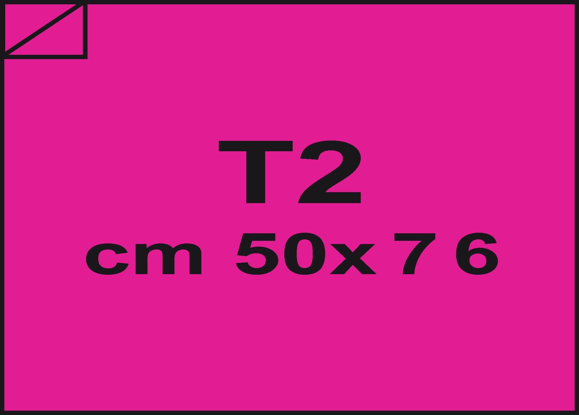 carta Carta velina Ciclamino 65, formato T2 (50x76cm), 18grammi x mq.