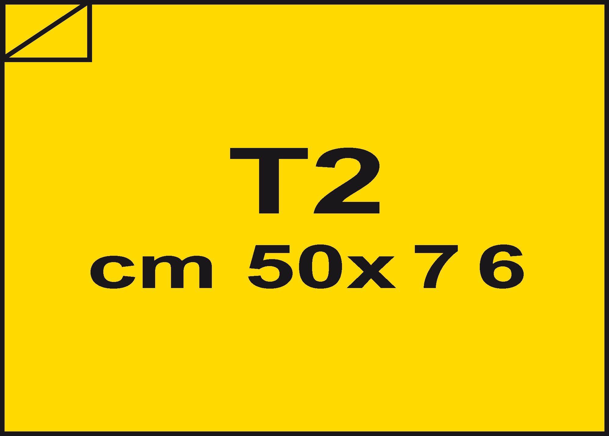 carta Carta velina Giallo 71, formato T2 (50x76cm), 18grammi x mq.