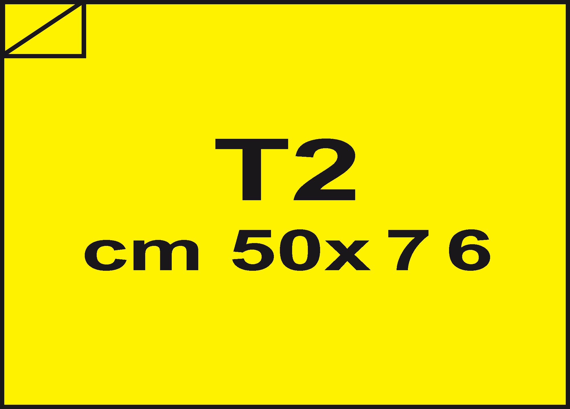 carta Carta velina Giallo sole 68, formato T2 (50x76cm), 18grammi x mq.