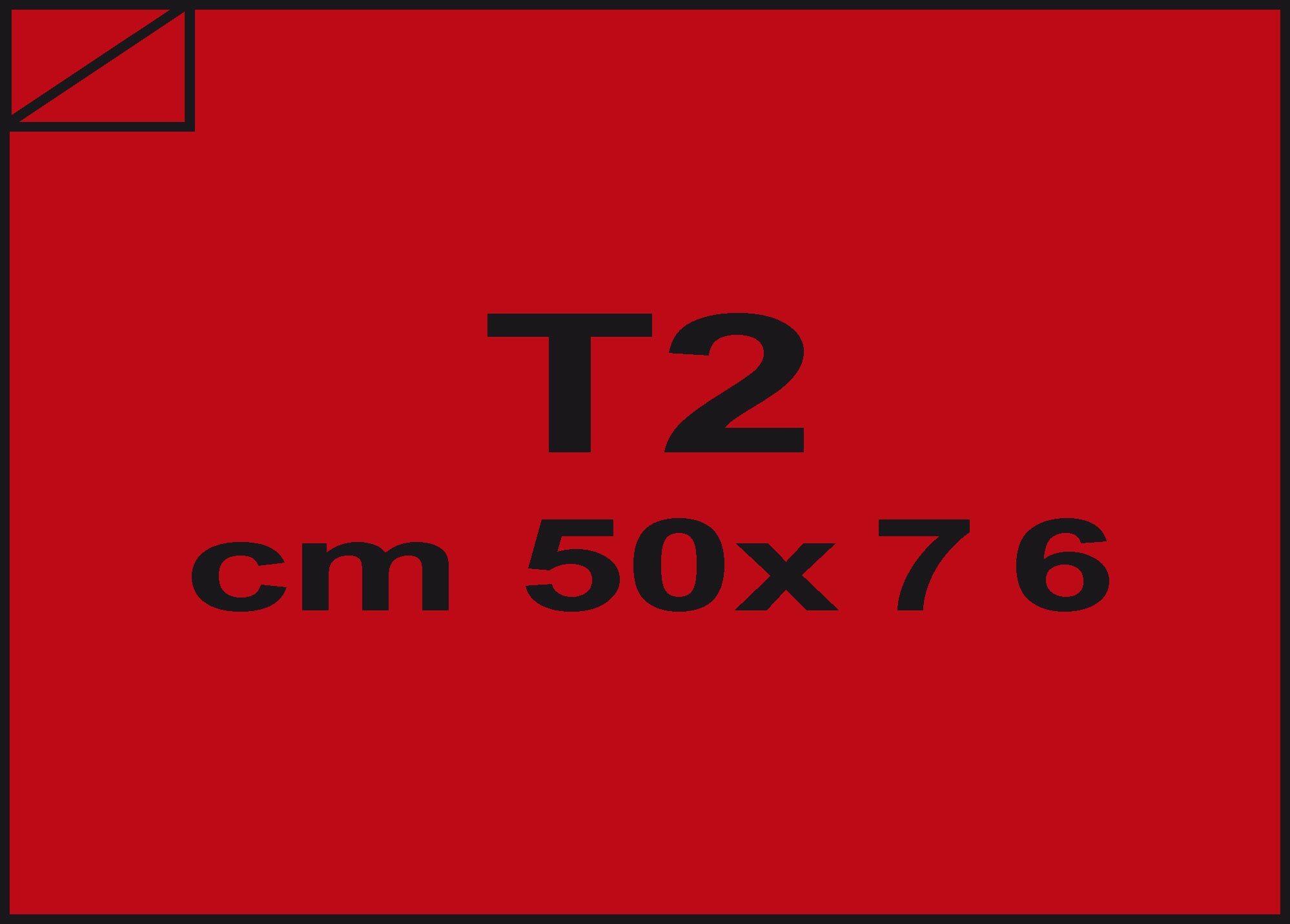 carta Carta velina Rosso indiano 91, formato T2 (50x76cm), 18grammi x mq.