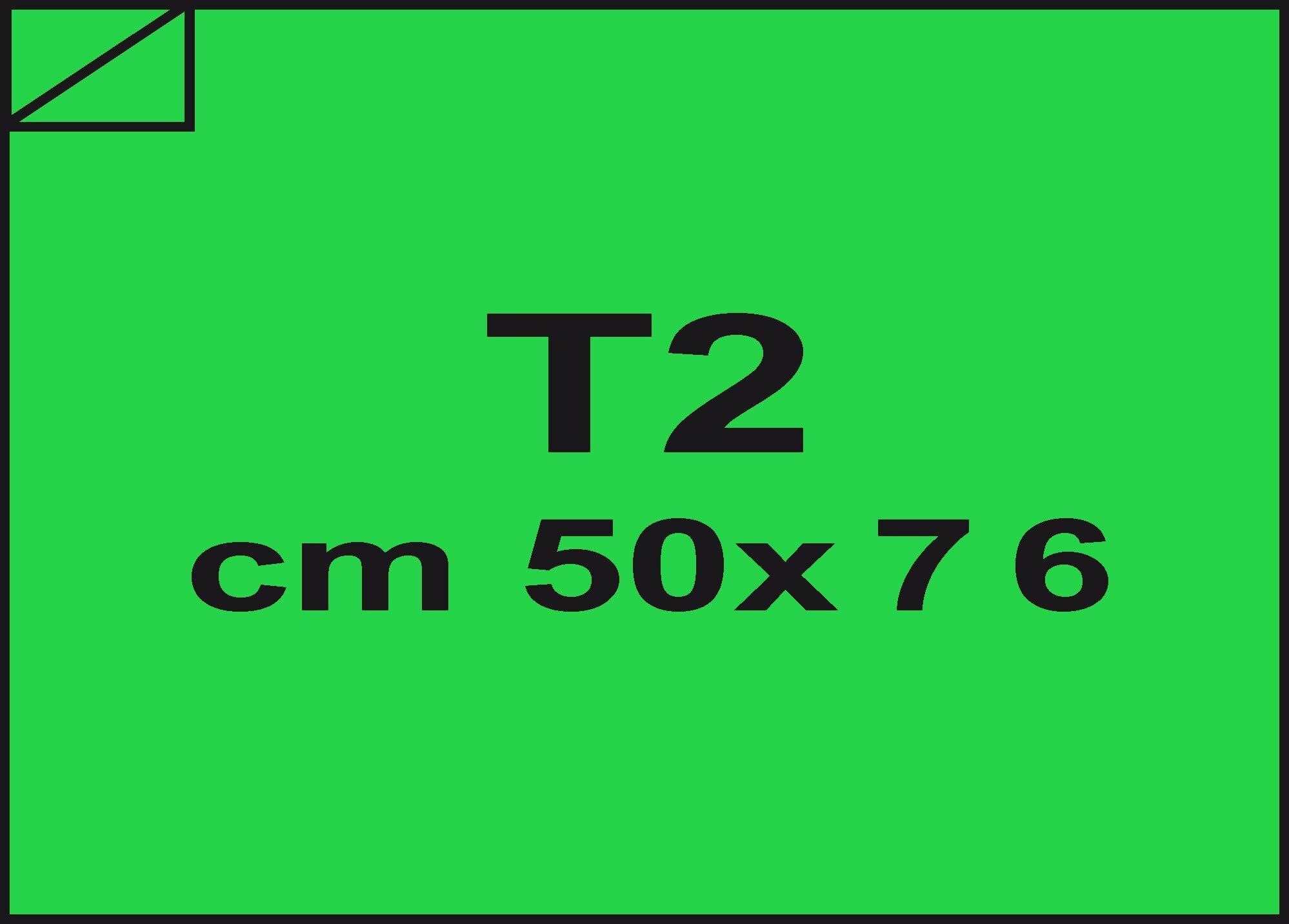 carta Carta velina Verde 34, formato T2 (50x76cm), 18grammi x mq.
