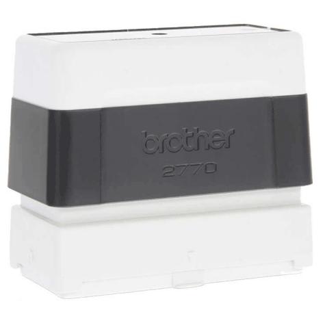 brothertimbri NERO timbro Brother Digistamp formato 27x70mm, timbro completo di etichetta, per SC2000.
