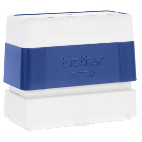 brothertimbri BLU timbro Brother Digistamp formato 27x70mm, timbro completo di etichetta, per SC2000.