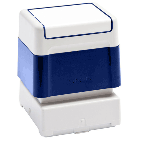 brothertimbri BLU timbro Brother Digistamp formato 40x40mm, timbro completo di etichetta, per SC2000.