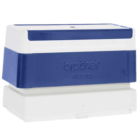 brothertimbri BLU timbro Brother Digistamp formato 40x90mm, timbro completo di etichetta, per SC2000.