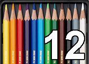 gbc Prismalo acquerellabile Caran D Ache 12 Scatola metallo da 12 pastelli prismalo acquerellabile caran d ache matita esagonale dalla mina fine 2,95mm, resistente e acquerellabile. alta concentrazione di pigmenti ed eccellente resistenza alla luce in base ai colori. perfetto su carta, cartone, legno, cuoio ecc. non adatto alle superfici lisce..