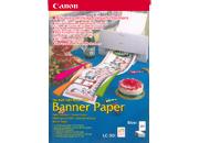 gbc Banner Paper Canon per i vostri striscioni personali equivalente a 50 fogli A4 (15 metri) di carta Canon ink-jet per stampanti bjc-250/Bjc-4300 per immagini d'effetto.