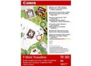 consumabili 8938A001AA  CANON CARTA INKJET TR-301 TRANSFER A4 147GR 10 FOGLI.