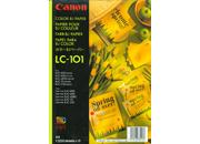 gbc Carta CANON ink-jet A4 LC-101 Bianca, patinata opaca, 100 gr/mq. Specifica per stampanti Canon BJC-800, BJC-600, BJC-4000, BJC-70, BJC-210, alta definizione..