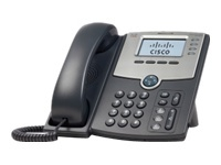 informatica CISCO SPA504G 4 Line IP Phone With Display, PoE and PC Port.