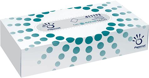carta Veline facciali qualità superior, 2 veli, per uso alimentare, altezza 20cm, lunghezza 21cm, 100 veline.
