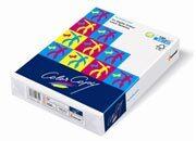 carta Carta Mondi-Neusiedler, Color Copy, 200 grammi, formato SRA3 (320x450mm) per laser a colori, sbiancata con il metodo ECF, certificata ISO 9706 e FSC, elevatissimi punto di bianco (160), opacità (99) e stabilità dimensionale, grado di liscio 160, spessore 200mm:1000, speciale trattamento della superficie per una perfetta riproduzione dei colori.