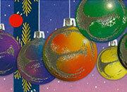 carta Carta personaizzata con cornice -christmas time- DEC1023.