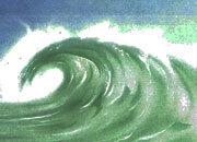 carta Carta personalizzata con soggetto -ocean- DEC301Sx100.