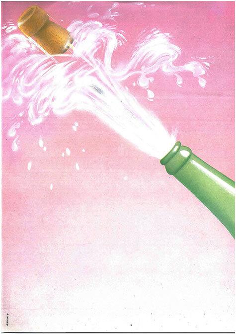 carta Carta personalizzata con soggetto -good wishes- per stampanti laser & inkjet. Formato a4 (21x29,7 cm), 95gr x mq, personalizzata a tema.