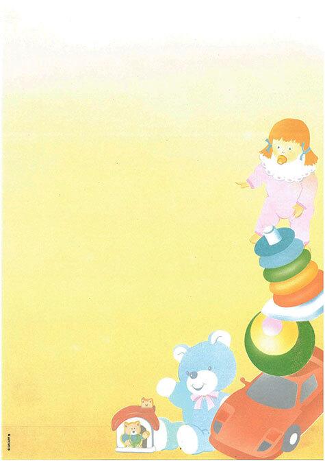 carta Carta personalizzata con soggetto -toys- per stampanti laser & inkjet. Formato a4 (21x29,7 cm), 95gr x mq, personalizzata a tema.