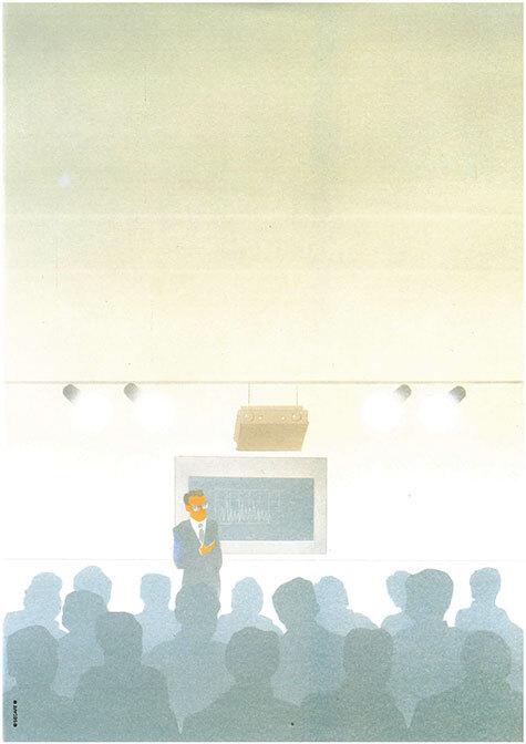 carta Carta personalizzata con soggetto -conference- per stampanti laser & inkjet. Formato a4 (21x29,7 cm), 95gr x mq, personalizzata a tema.