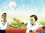 carta Carta personalizzata con soggetto -football- per stampanti laser & inkjet. Formato a4 (21x29,7 cm), 95gr x mq, personalizzata a tema.