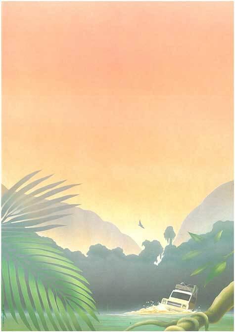 carta Carta personalizzata con soggetto -adventure- per stampanti laser & inkjet. Formato a4 (21x29,7 cm), 95gr x mq, personalizzata a tema.