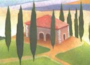 decadry Soggetto. tuscany. carta 95gr. personalizzata a tema per stampanti laser & inkjet. formato a4 (21x29,7 cm), 95gr x mq, tuscany.