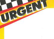 decadry Soggetto. urgent. carta 95gr. personalizzata a tema per stampanti laser & inkjet. formato a4 (21x29,7 cm), 95gr x mq, urgent.