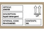 gbc Etichette DYMO LW per consumi intensivi (59 x 102) 2 rotoli compatibile solo con LW4XL.