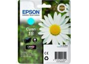 consumabili C13T18024010  EPSON CARTUCCIA INK-JET CIAN0 18 CLARIA HOME PACK 1 BLISTER SENZA ANTIACCHEGGIO EXPRESSION HOME XP-/102/205/305/405.