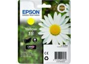 consumabili C13T18044010  EPSON CARTUCCIA INK-JET GIALLO 18 CLARIA HOME PACK 1 BLISTER SENZA ANTIACCHEGGIO EXPRESSION HOME XP-/102/205/305/405.