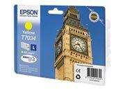 consumabili C13T70344010  EPSON CARTUCCIA INK-JET GIALLO L 800 PAGINE BLISTER SENZA ANTIACCHEGGIO WORKFORCE PRO WP-/4000/4500/4545DTWF.