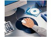 gbc 67107, ALL GELL tappetino mouse BLU. Ex codice Esselte 671070, marchio ESSELTE.